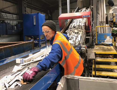 Veka Recycling Begins Production At New Wellingborough HQ