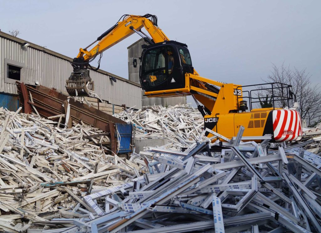 upvc frames recycling uk